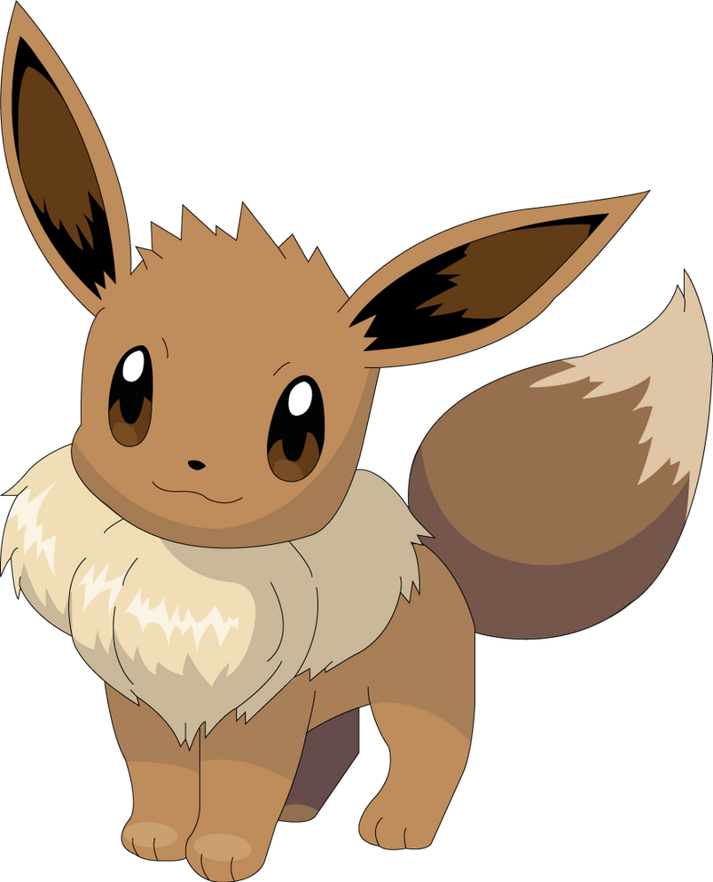 Les CT/CS et Pierre Evolutives - Page 16 Eevee_illustrator_vector_by_kallen10-d3eyis7