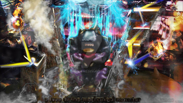 a love divine mechanical monster