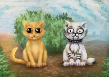 Cats, just cats by EL42