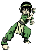 Toph by Shulky