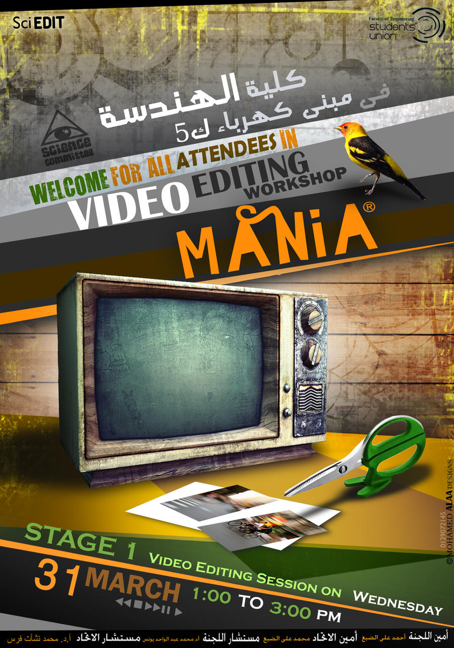 Poster design editor - Video Editing Poster By Pegasus97 Video Editing Poster By Pegasus97