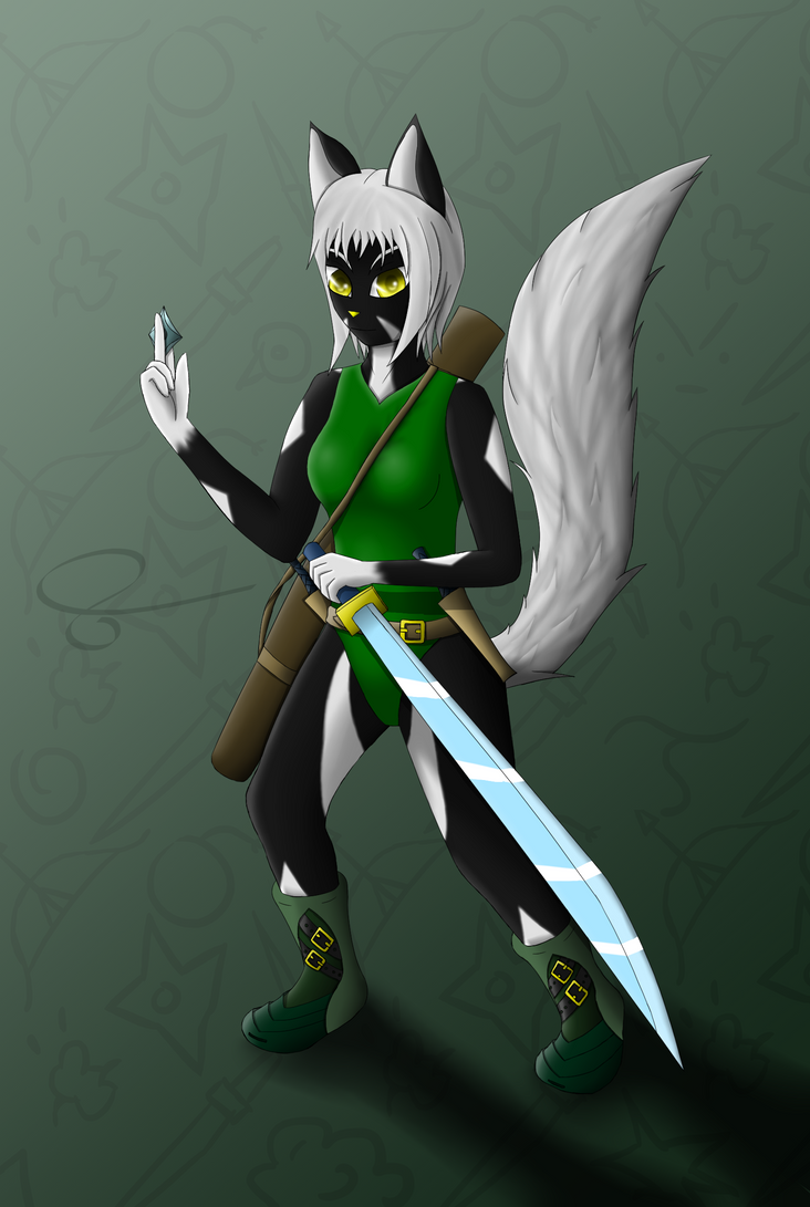 Shiku The Ninja by D3rw3n