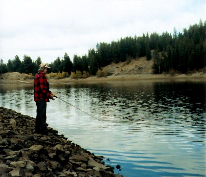 Fishing on Opal Lake by jaimed1968
