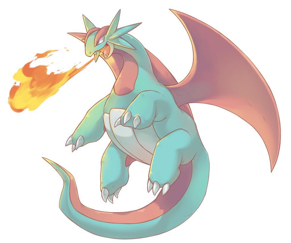 Pokemon Salamence Vs Charizard Images   Pokemon Images