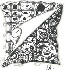 Printemps Zentangle