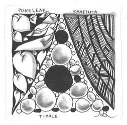 Pokeleaf Shattuck Tipple Zentangle