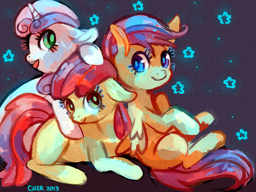 Cootie Mark Crusaders by Cherkivi