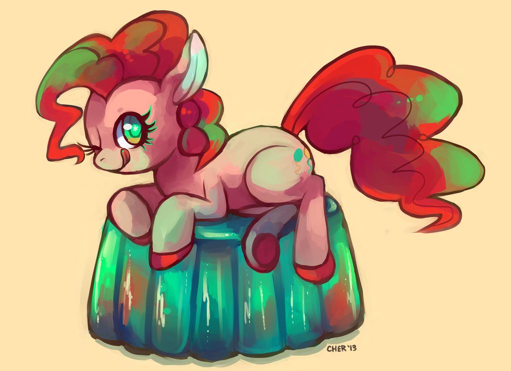 Pinkie Jell-o! by Cherkivi