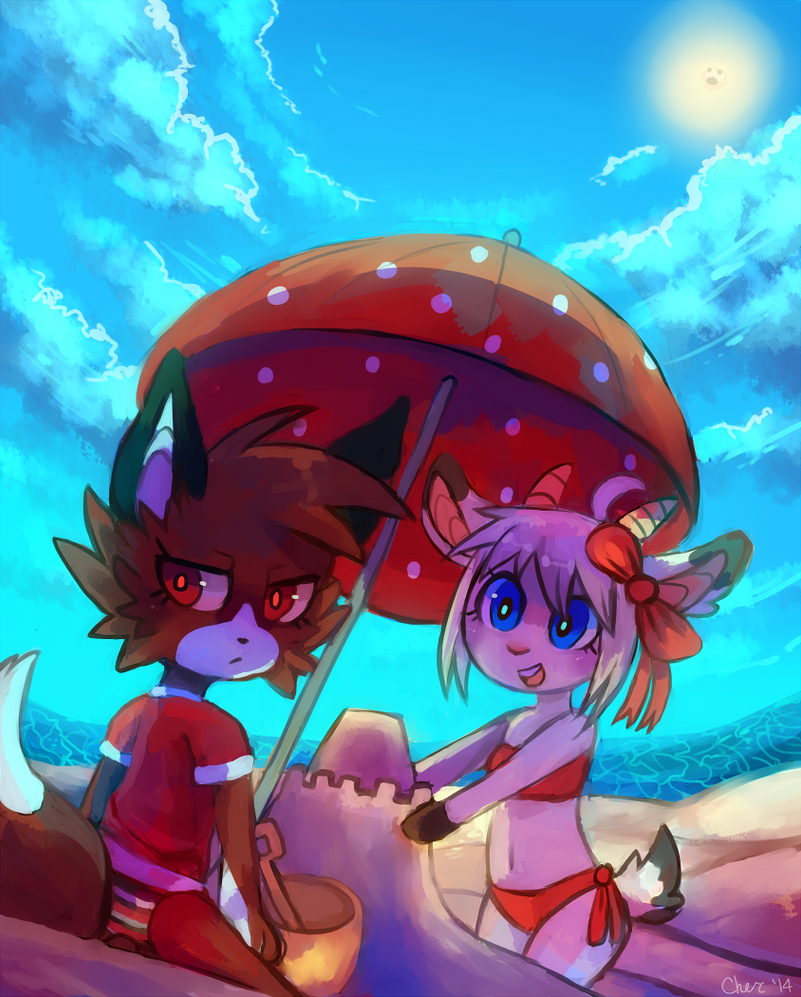 Beach Nerds by Cherkivi