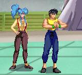 Botan and Yusuke