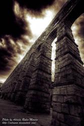 Aqueduct of Segovia by adrumo