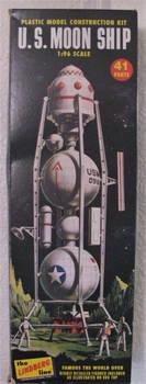 Lindberg US Moon Ship box