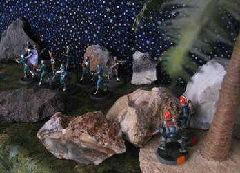 Galacteers ambush Valkeeri