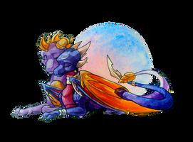 Spyro and Cynder by Daydream-Dragoness