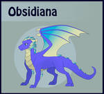 Obsidiana (Sidna) refference sheet. by Daydream-Dragoness