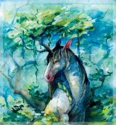 Nature (Junicorn) by Daydream-Dragoness