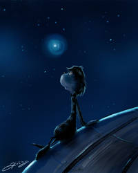 .:alone in the universe:.
