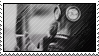 gas mask stamp by gyenes