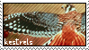 kestrels stamp by gyenes