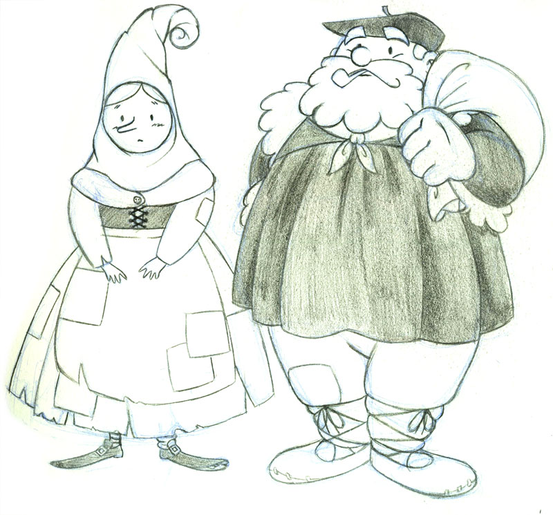 Dibujos para colorear de navidad del olentzero – Regalos populares