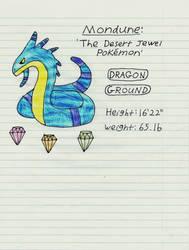 Mondune (Pokemon Diamond Bootleg) by aotearoa-geek13