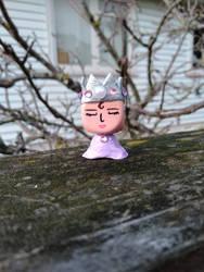 Princess Minerva (Blokhedz OOAK)