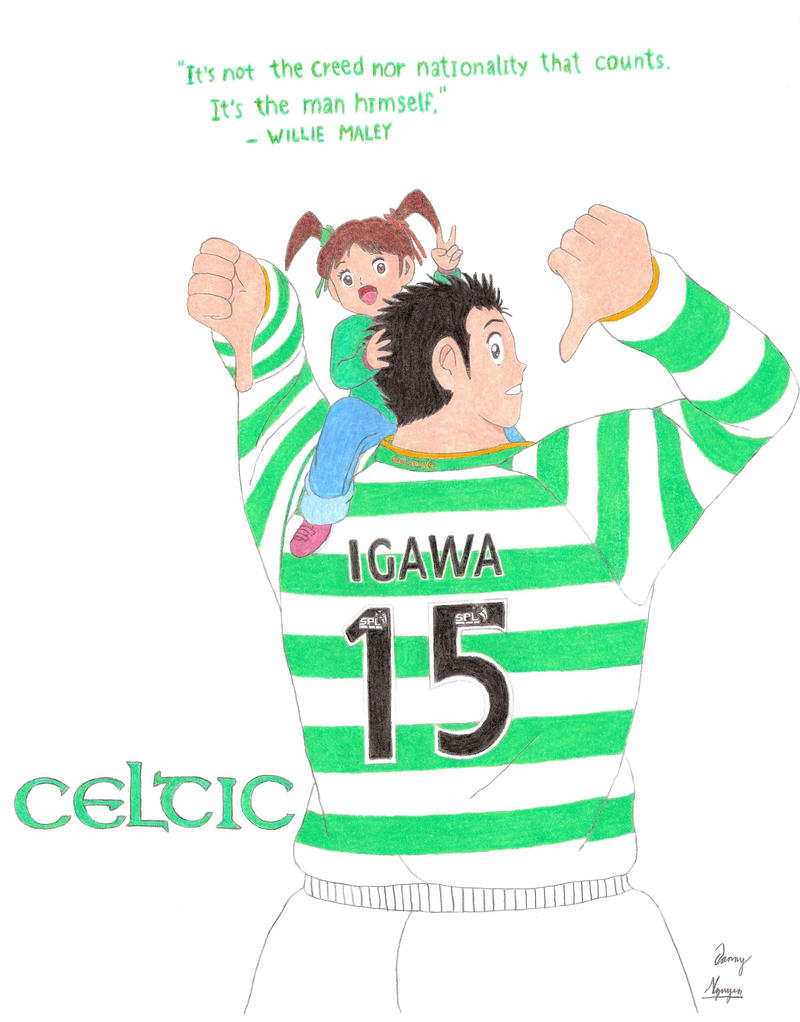[Resim: Celtic__s_Gakuto_and_Liza_by_Kira_Tsubasafan.jpg]