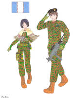 Isara and Welkin MW style by Kira-Tsubasafan