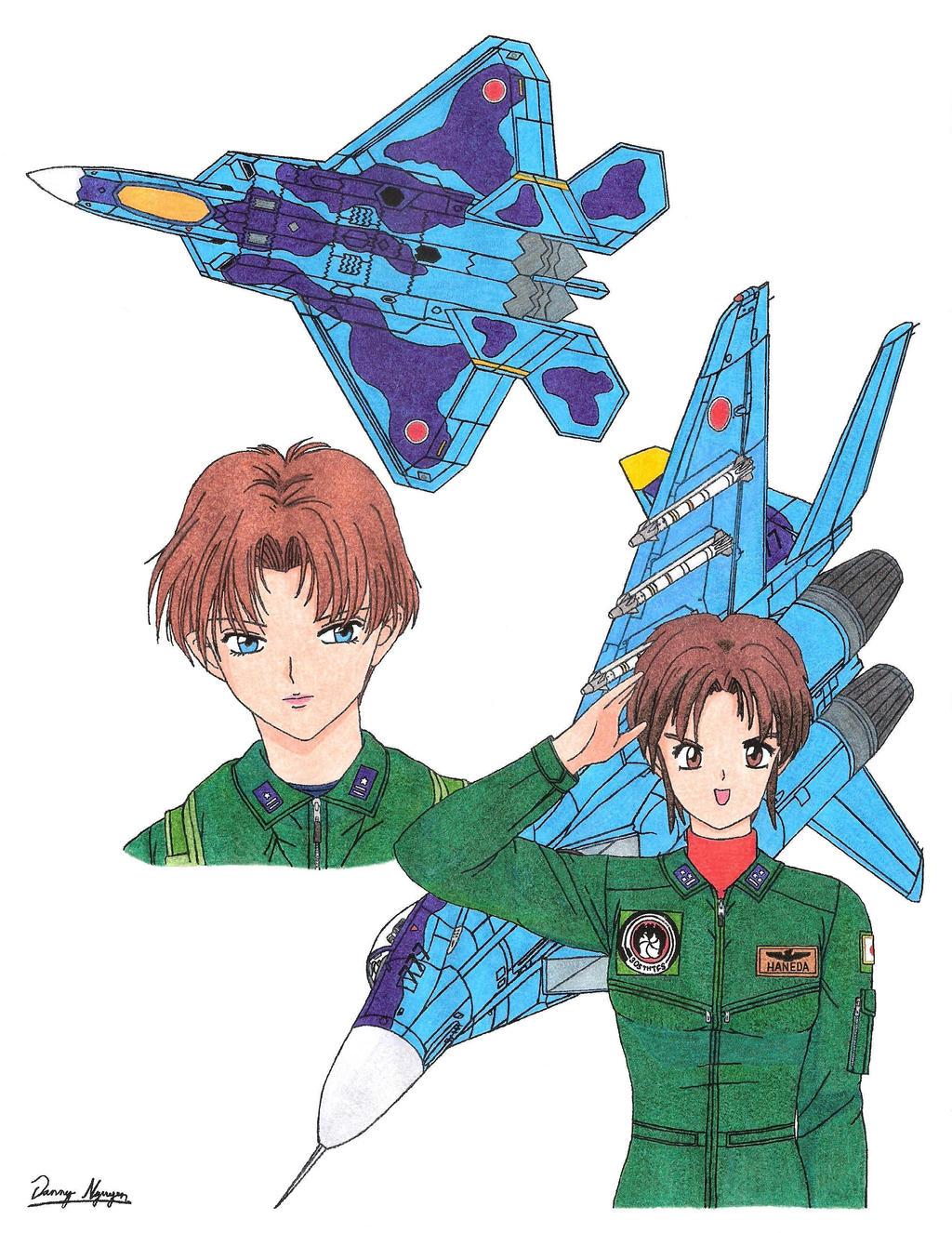 Naomi O'Brian and Miyuki Haneda by Kira-Tsubasafan
