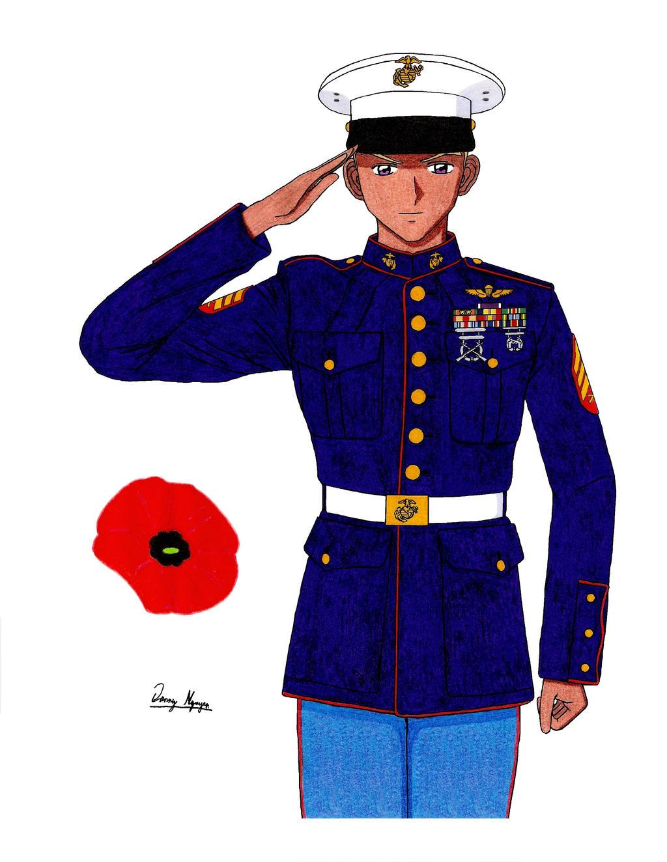 Marine enlisted uniforms