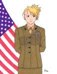 Capt. Riza Hawkeye, USMC