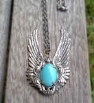 Blue Winged Pendant