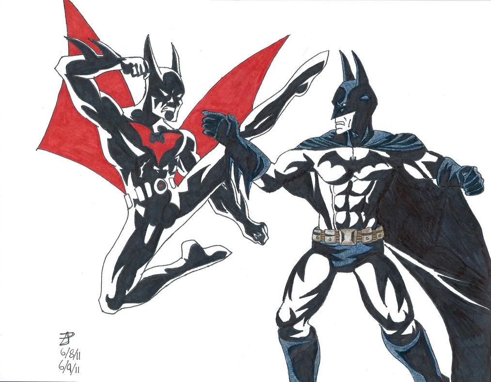 Batman: Arkham Asylum vs Batman Beyond by ZacharyPadgett ...