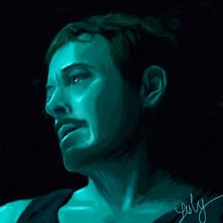 Tony Stark in Endgame trailer by Lisly227