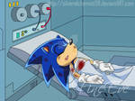Sonic Injured by me