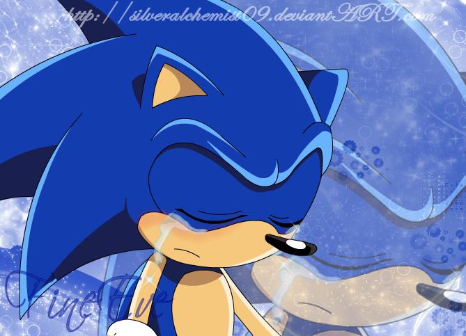 Sonic Cry TT.TT by SilverAlchemist09