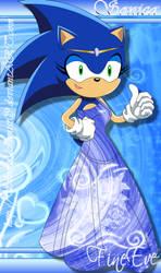 Princess Sonica by SilverAlchemist09