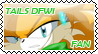TailsDFWI-FAn-stamp by SilverAlchemist09