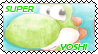 Stamp - Super Yoshi by SilverAlchemist09