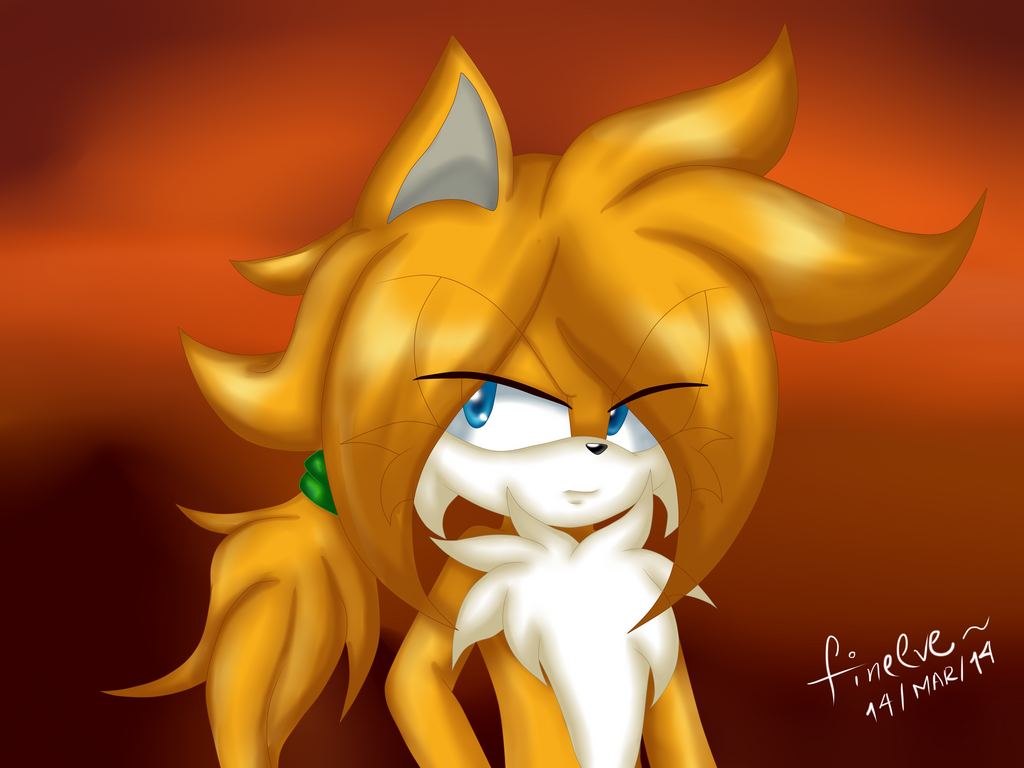 Tails TSR by SilverAlchemist09