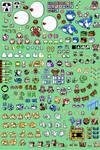 Custom Kirby's Adventure Sprites by Starlequin