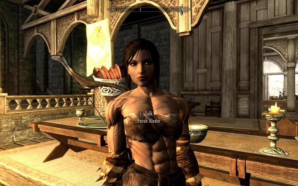 Skyrim: Goddess as a follower by drawfmg on DeviantArt