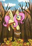 Autumn Shy by neo-shrek