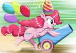 When Pinkie Pie Invited to the Party