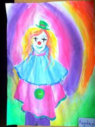 Random Clown OC by Kayako-pl