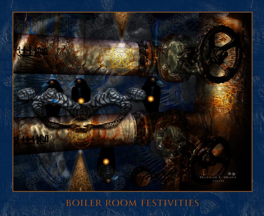 Boiler Room Festivities by x-pyre12