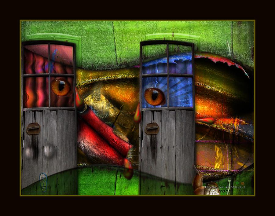 The Door Next Door by x-pyre12