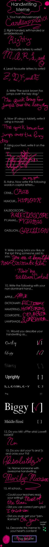 Handwriting Meme by candiiapple101