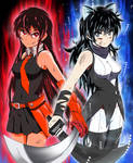 The Will to Fight on! UI Blake and KK Akame