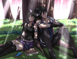 Will of Shadows! Blake x Sasuke